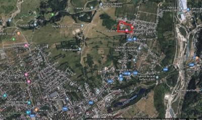 Teren de vanzare zona Campina, judetul Prahova 40679 mp
