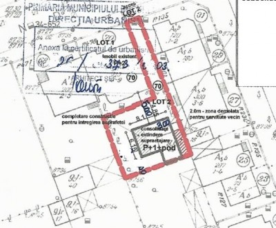 Teren de vanzare zona Domenii, Bucuresti 262 mp