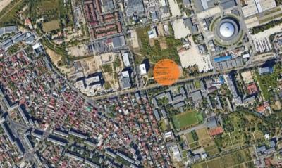 Land plot for sale Expozitiei area, Bucharest 4.124 sqm