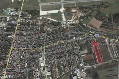 Teren de vanzare zona Otopeni - Soseaua 23 August, Bucuresti 5,000 mp