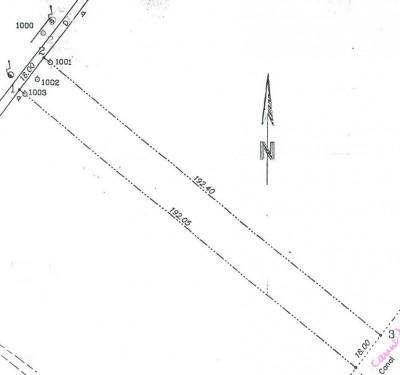 Land for sale Snagov area 3450 sqm