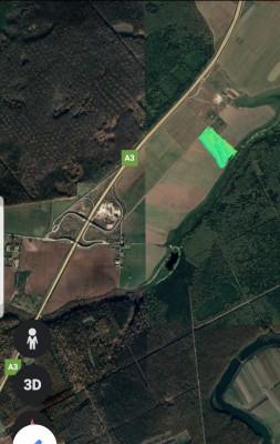 Teren de vanzare zona Snagov, judetul Ilfov 10.535 mp
