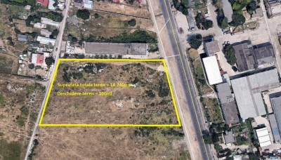 Land plot for sale South area-  Jilava, Ilfov county 14.740 sqm