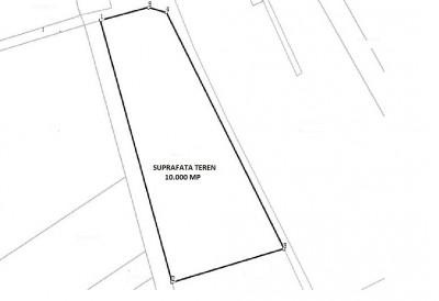 Urban land plot for sale Ploiesti, Prahova county 10.000 sqm
