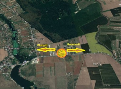 Teren intravilan de vanzare zona Tancabesti, judetul Ilfov 16.000 mp