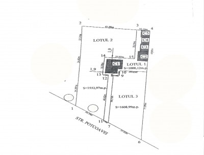 Residential land plot for sale Iancu Nicolae area, Bucharest 4,162 sqm