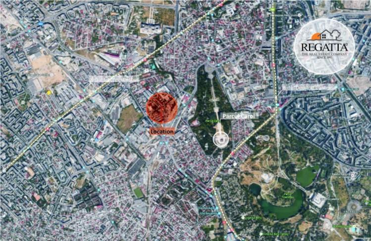 Imobil de vanzare zona Parcul Carol, Bucuresti, 6404 mp