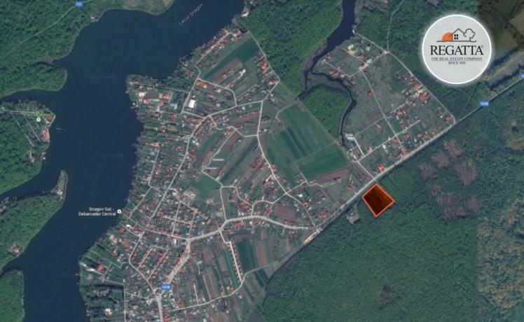 Teren de vanzare localizat in  zona Snagov 15000 mp
