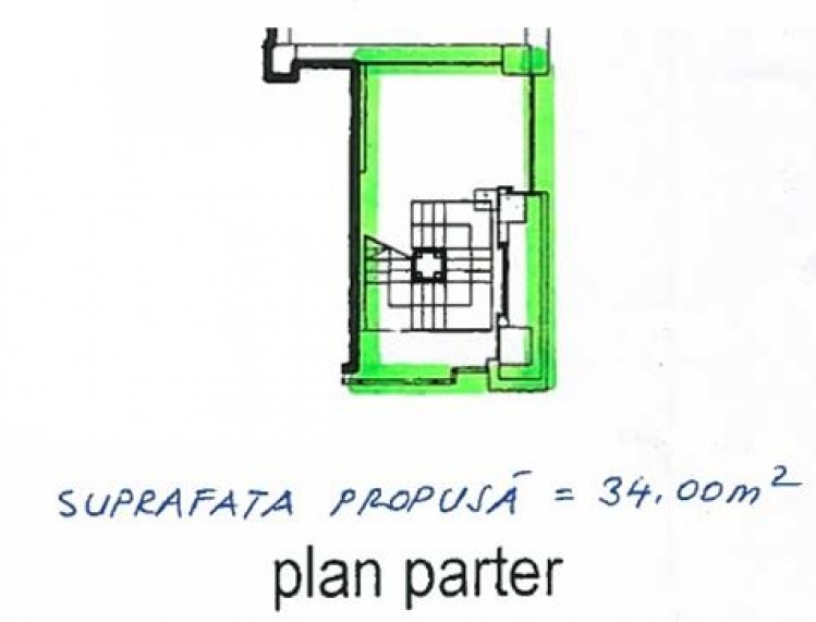Spatiu comercial de inchiriat zona Unirii, Bucuresti 471 mp