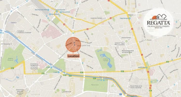 Spatiu comercial inchiriat de vanzare, Bulevardul Stirbei Voda, Bucuresti, 177 mp