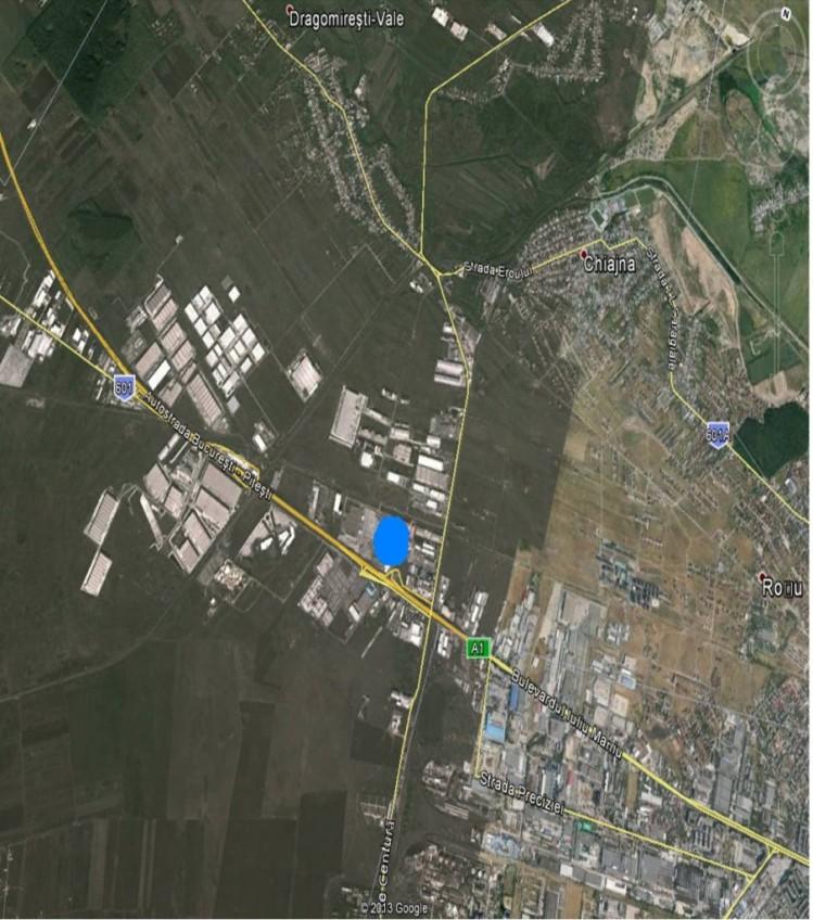 Spatiu industrial de vanzare Bucuresti zona A1 Bucuresti-Pitesti 1.450 mp