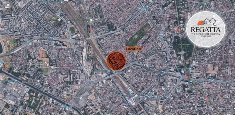 Teren cu autorizatie de construire zona Nicolae Titulescu - Metrou Basarab, Bucuresti, 1718 mp