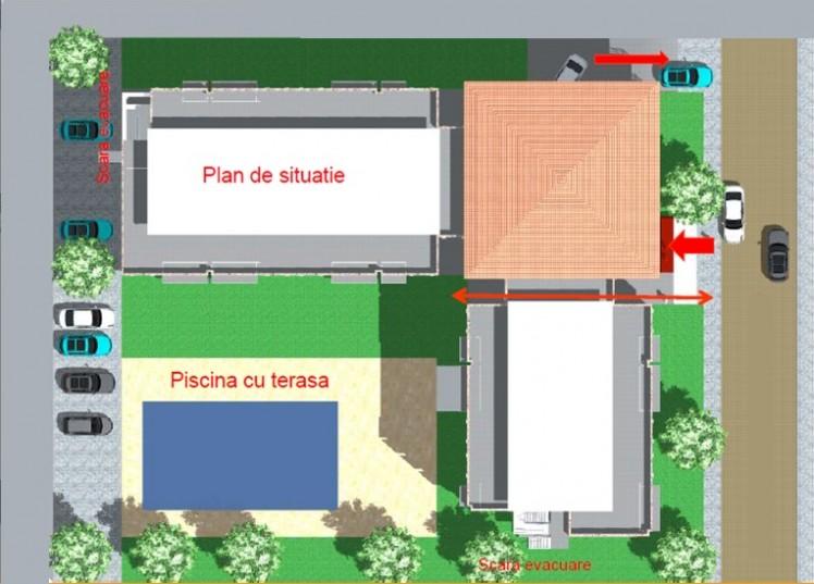 Teren cu proiect rezidential de vanzare, Eforie Nord, Constanta, 3000 mp