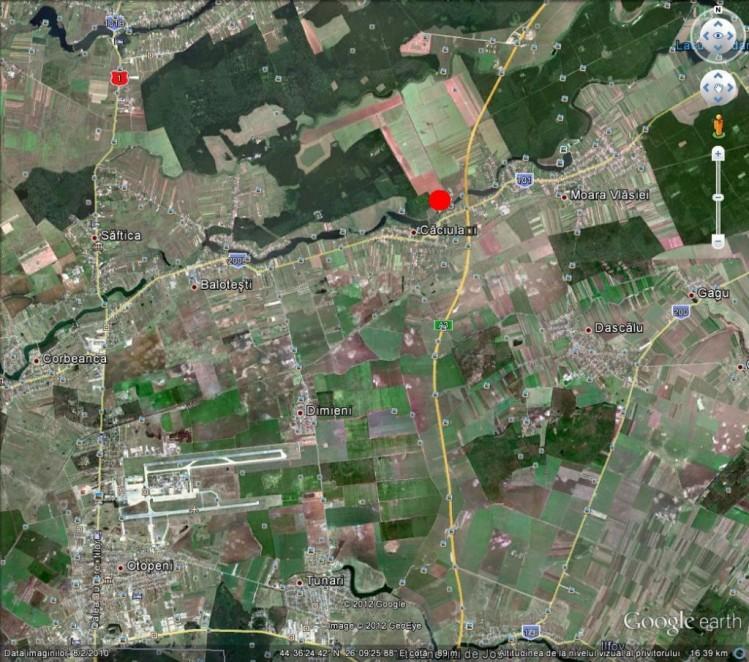 Teren de vanzare, zona Moara Vlasiei, jud. Ilfov, 125.000 mp