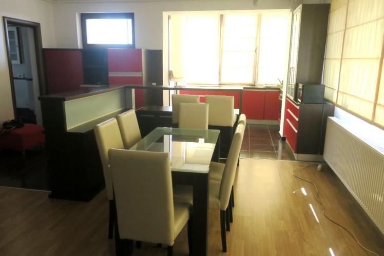 Apartament de inchiriat 3 camere zona Baneasa, Bucuresti 120 mp