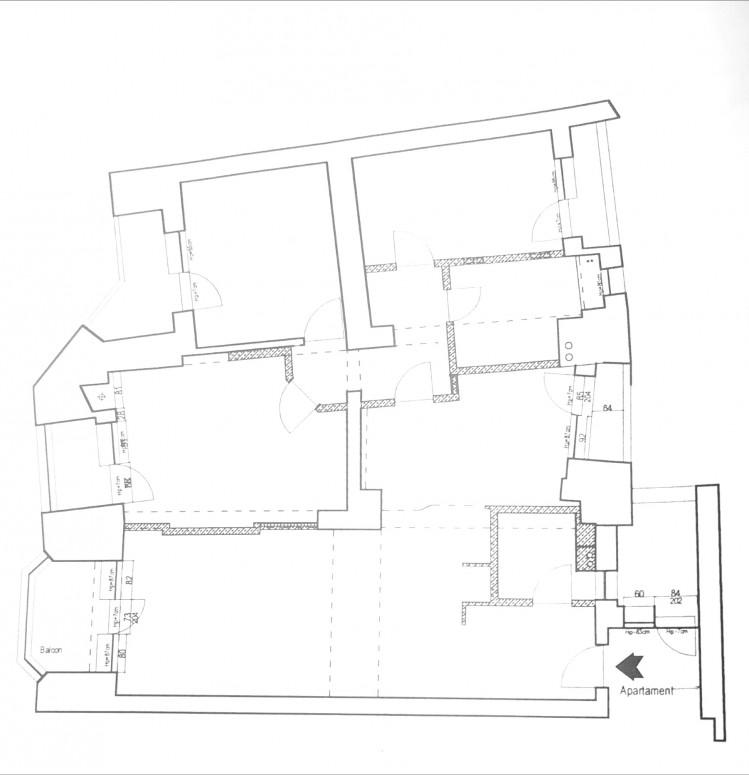 Apartament de inchiriat 4 camere zona Alba Iulia 100 mp