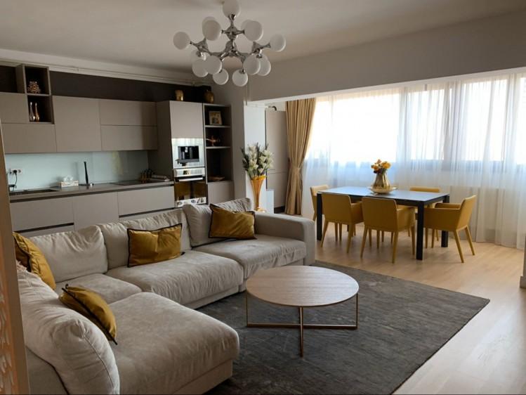Apartament de inchiriat 4 camere zona Herastrau 122 mp