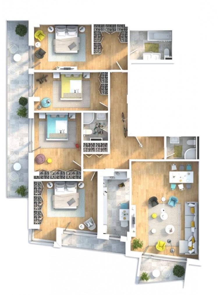 Apartament de vânzare 5 camere zona Piața Victoriei/Titulescu 158 mp