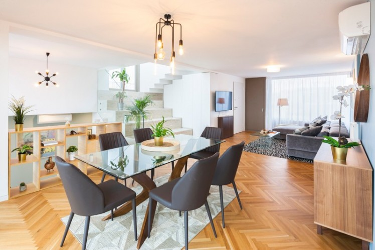 Apartament de vanzare tip penthouse 4 camere zona Piata Victoriei, Bucuresti 263 mp