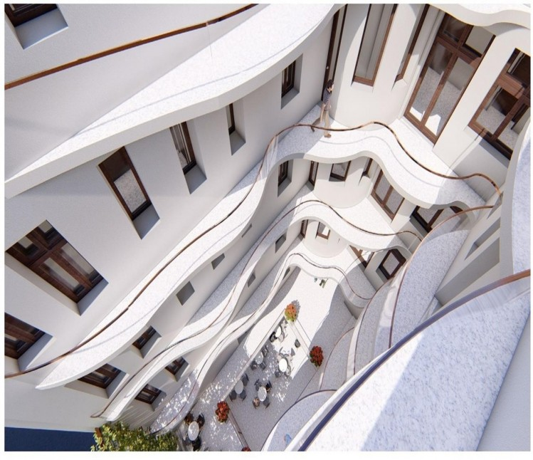 Building with spectacular architecture for sale Calea Victoriei, Bucharest