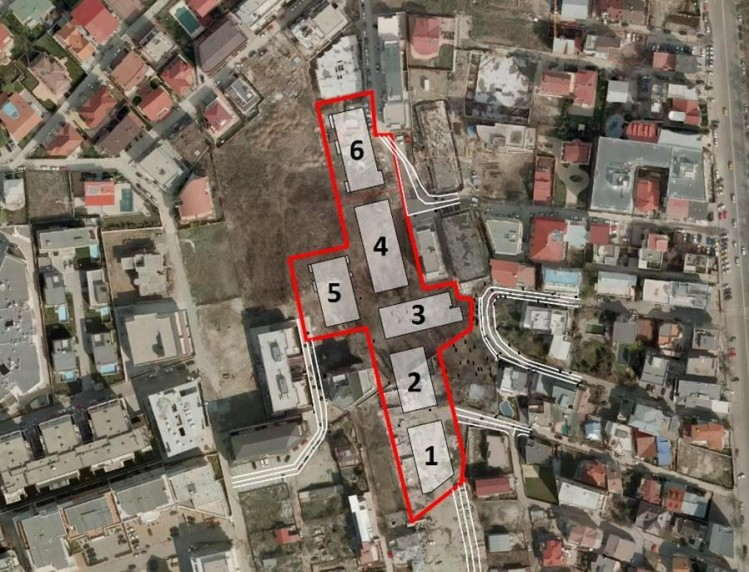 Package of 19 commercial spaces North area, Bucharest