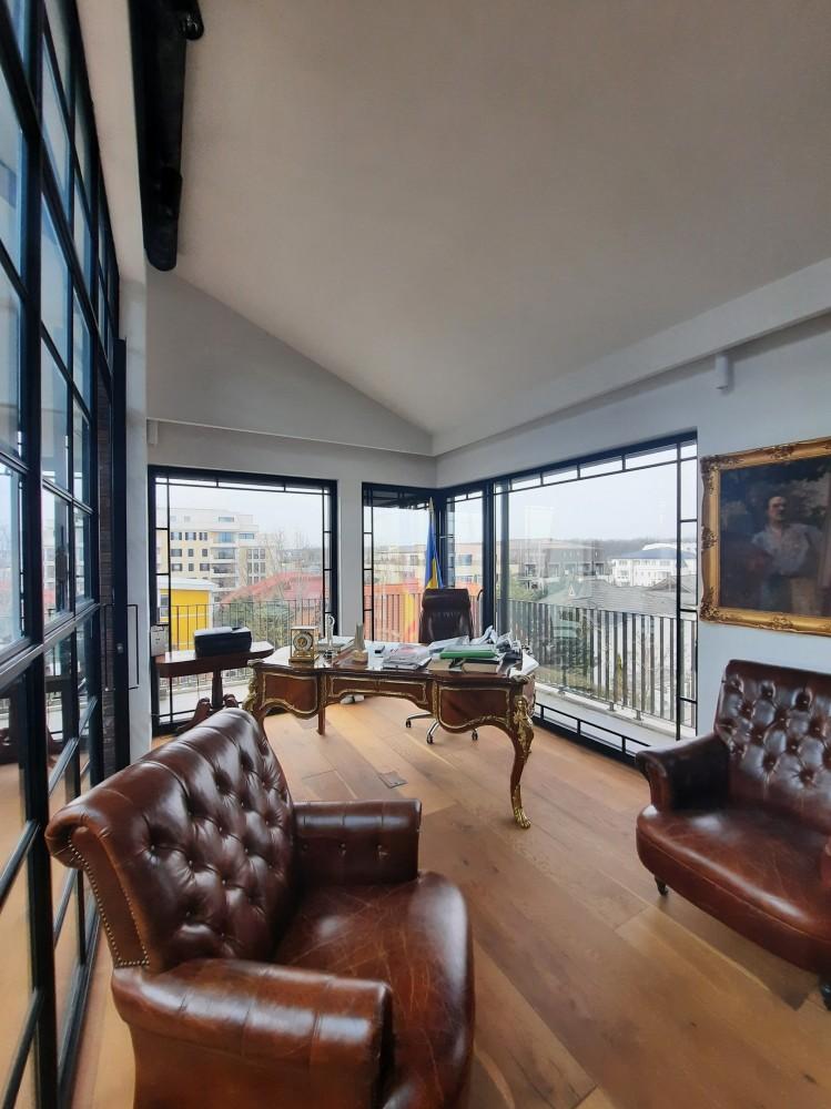 Penthouse de vanzare 6 camere zona Pipera - Iancu Nicolae 435 mp