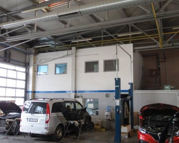Spatii industriale cu birouri si teren de vanzare zona Mogosoaia, Bucuresti