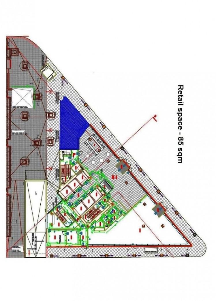 Spatiu comercial de inchiriat zona Barbu Vacarescu, Bucuresti 85 mp