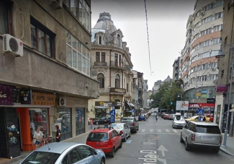 Commercial space for rent Amzei Square area, Bucharest 204,26 sqm