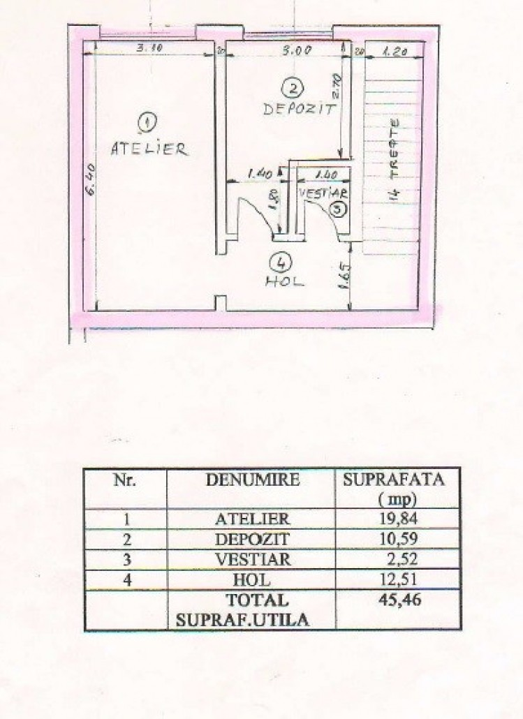 Spatiu comercial de vanzare zona Piata Natiunile Unite, Bucuresti 143.56 mp