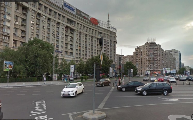 Commercial space for rent Calea Victoriei area, Bucharest 1.033 sqm