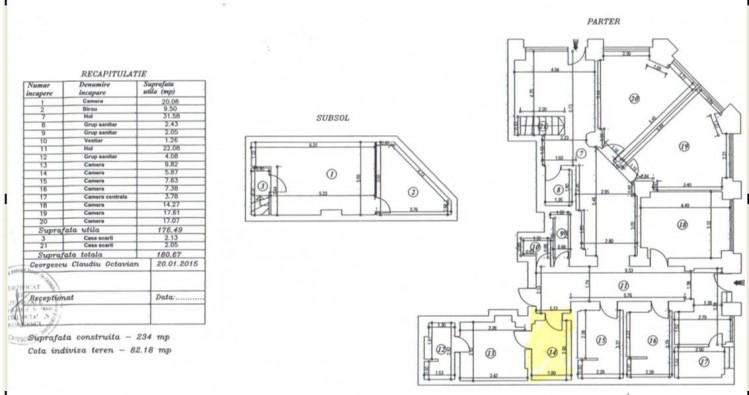 Commercial space for sale Gara de Nord area, Bucharest 180.67 sqm