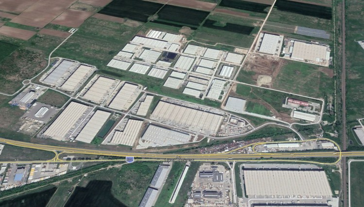 Spatiu industrial de inchiriat zona de Vest, Bucuresti 1.625 - 4.500 mp