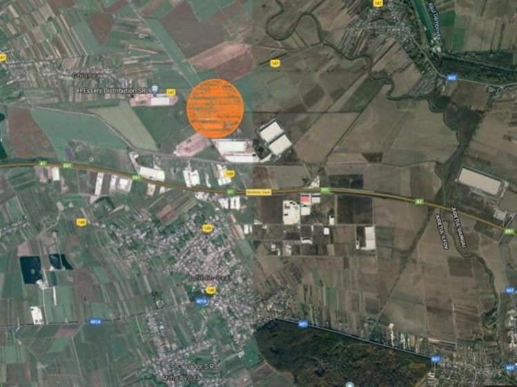 Teren de vanzare Autostrada A1 Bucuresti - Pitesti 320.000 mp