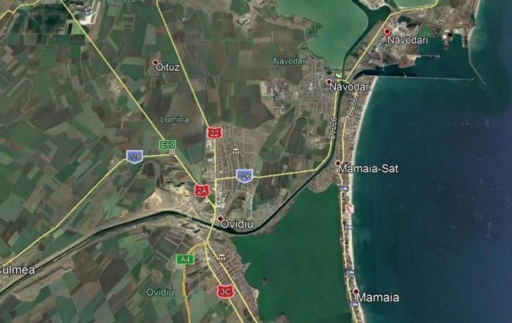 Teren de vanzare Navodari - Plaja, judetul Constanta 29.500 mp