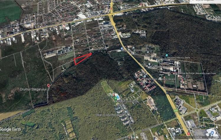 Teren de vanzare Sisesti - Drumul Stegarului, Bucuresti 12.600 mp