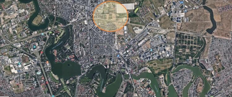 Teren de vanzare zona Aviatiei, Bucuresti 1908 mp