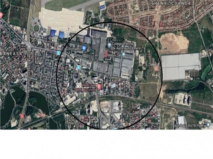 Teren de vanzare zona Baneasa, Bucuresti 1502 mp