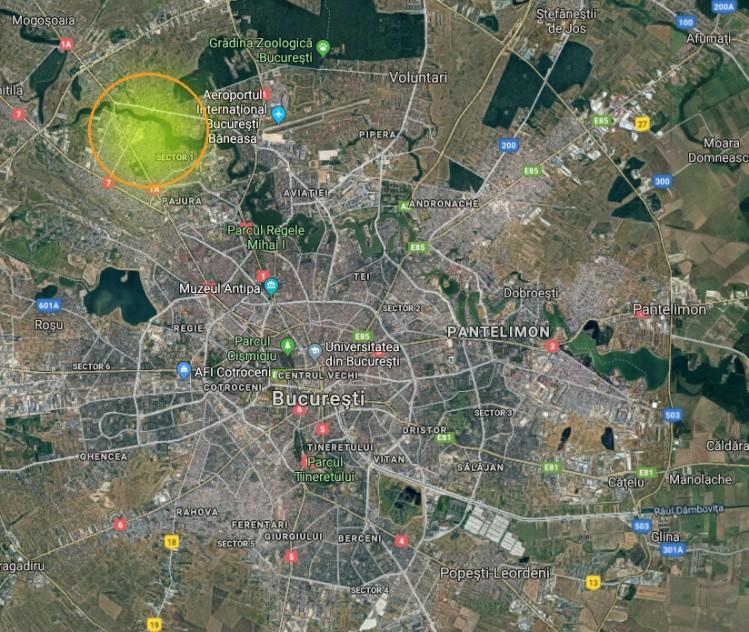 Teren de vanzare zona Baneasa-Sisesti 2375 mp