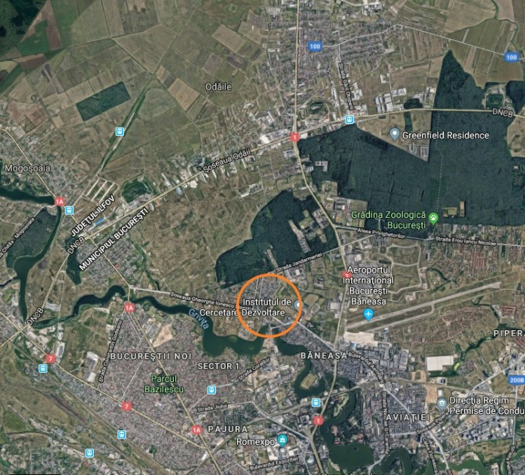 Land for sale Baneasa-Sisesti area, Bucharest 500sqm