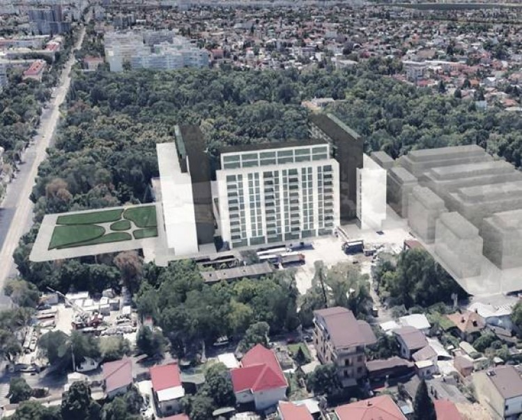 Teren de vanzare zona Bucurestii Noi - Parc Bazilescu, Bucuresti