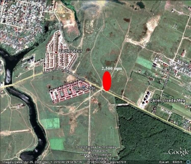 Teren de vanzare zona Pipera- Autostrada Bucuresti-Brasov, Bucuresti 2351 mp