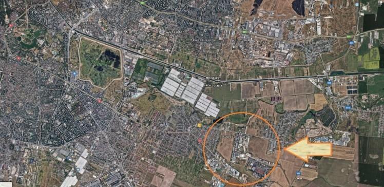 Land for sale Popesti Leordeni area, Ilfov 11225 sqm