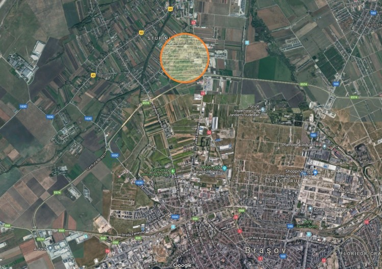 Teren de vanzare zona Stupini, Brasov 65.000 mp
