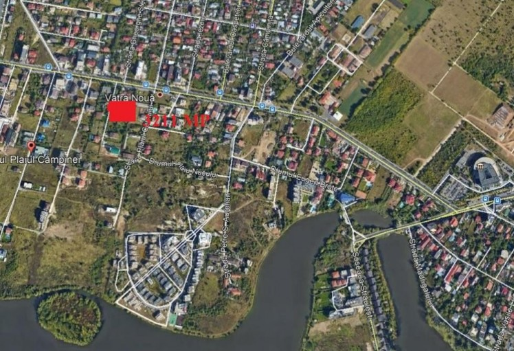 Residential land plot for sale North area - Sisesti, Bucharest 3.211 sqm