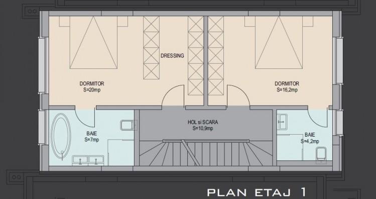 Vila de vanzare 5 camere zona Pipera/Iancu Nicolae 218 mp