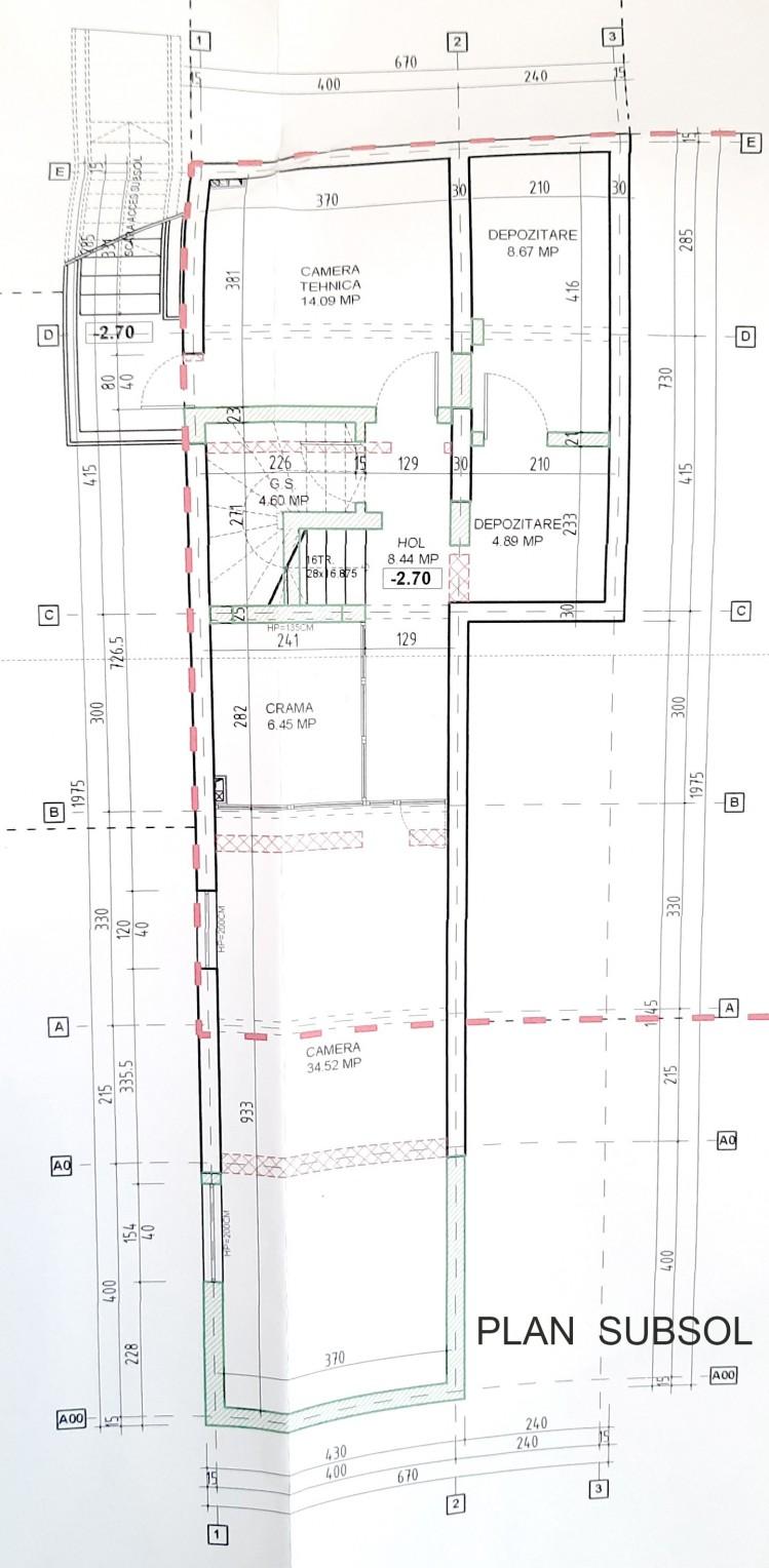 Vila de inchiriat 7 camere Corbeanca, judetul Ilfov 1.140 mp