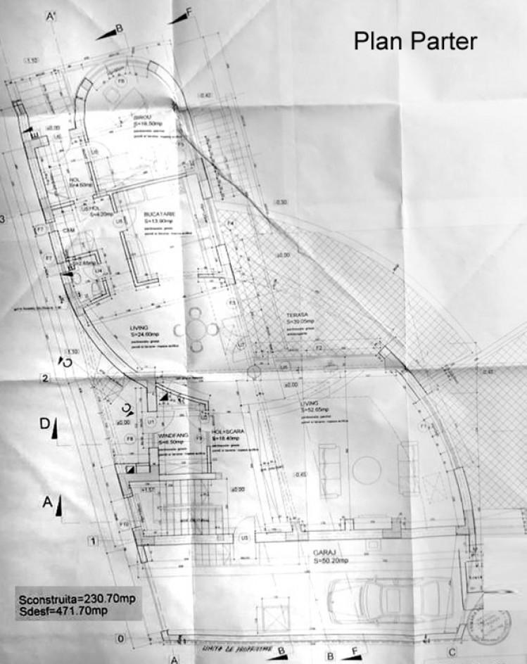 Vila de vanzare 8 camere zona Baneasa/Sisesti 657 mp