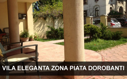 Vila eleganta de vanzare in zona Dorobanti